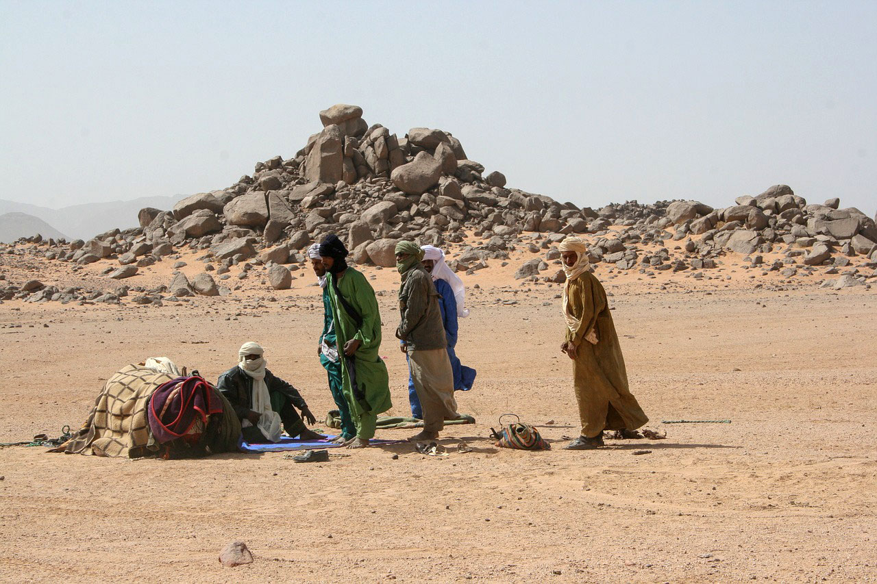 Сахара.Туареги