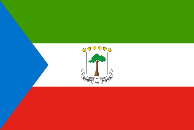 Национальный флаг Экваториальной Гвинеи