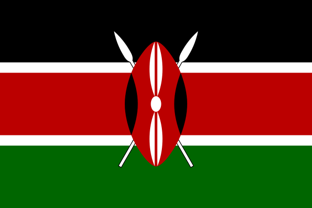 Государственный флаг Кении