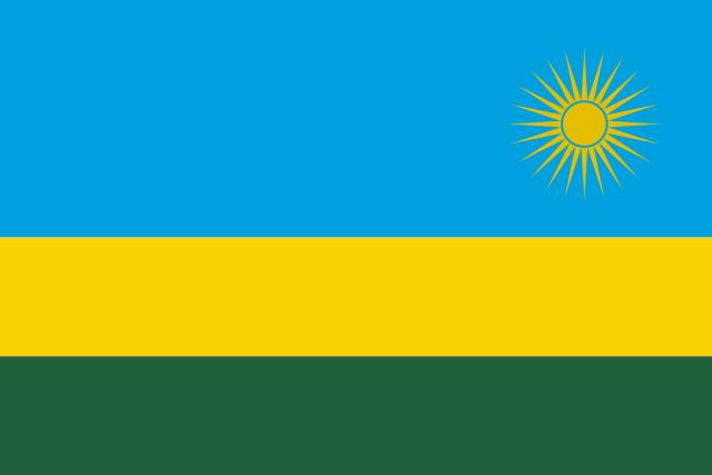 Государственный флаг Руанды