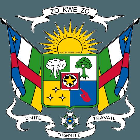 Национальный герб Центрально-Африканской Республики