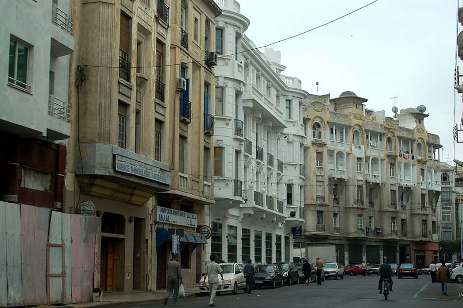 Город Касабланка фото