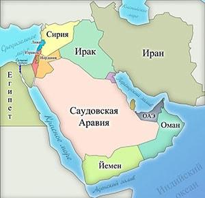 Карта Суэцкого канала